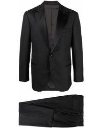 Brunello Cucinelli テーラード シングルジャケット - ブラック