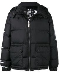 Philipp Plein スカル パデッドジャケット - ブラック