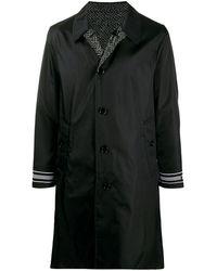 Burberry Omkeerbare Trenchcoat - Zwart