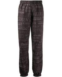 Kirin Elasticated Logo-print Track Trousers - Black