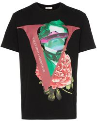 Valentino - X Undercover Collage Print Cotton T-shirt - Lyst