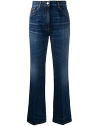 Prada Flared Denim Jeans - Blue