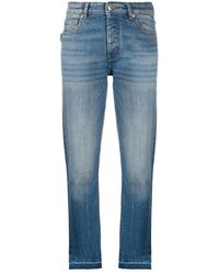 Zadig & Voltaire Raw-hem Cropped Jeans - Blue
