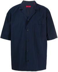 HUGO Overhemd Met Korte Mouwen - Blauw