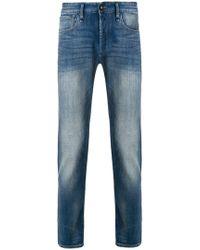 Denham Classic Polo Shirt - Blue