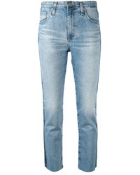 AG Jeans - Isabelle サイドストライプ ジーンズ - Lyst