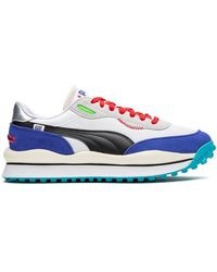 PUMA Sneakers Style Rider - Bianco