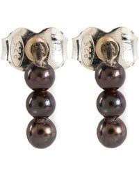 Henson - Akoya Pearl Stud Earrings - Lyst