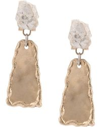 Proenza Schouler - Small Hammered Dangle Earrings - Lyst