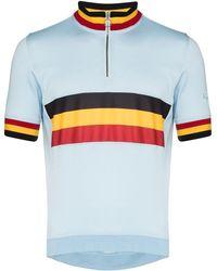 Rapha Classic Belgium サイクリング パフォーマンストップ - ブルー