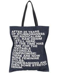 A.P.C. | Gael Shopping Bag | Lyst