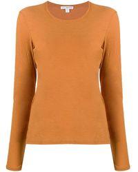 James Perse ロングtシャツ - オレンジ