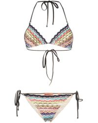 Missoni - Punto Serpente Bikini - Lyst