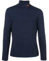 CALVIN KLEIN 205W39NYC Roll Neck Sweater - Blue