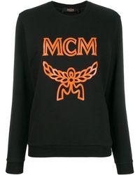 MCM ロゴ セーター - ブラック