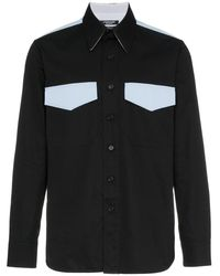 CALVIN KLEIN 205W39NYC Western Two Pocket Shirt - Zwart