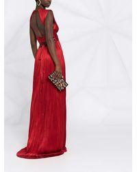 Maria Lucia Hohan Vestido de fiesta Adela - Rojo