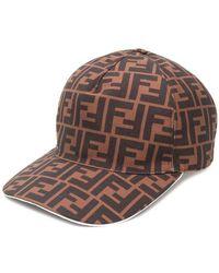 Fendi - Logo Baseball Cap - Lyst