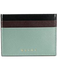 Marni Slim Card Holder - Многоцветный