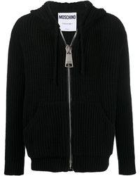 Moschino Вязаное Худи - Черный