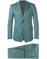 Prada ストレッチ スーツ - ブルー