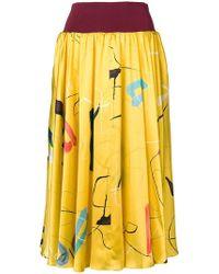 ROKSANDA - Elasticated Waist Skirt - Lyst