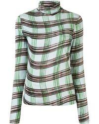 PROENZA SCHOULER WHITE LABEL - チェック ロングtシャツ - Lyst