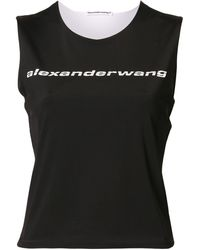 T By Alexander Wang - リバーシブル トップ - Lyst