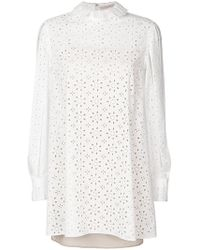 Christopher Kane - Broderie Anglaise Dress - Lyst