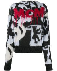MCM グラフィック セーター - ブラック