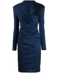 Talbot Runhof Bonka ドレス - ブルー
