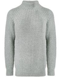 Officine Generale - Rib Stitch Turtleneck Sweater - Lyst
