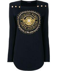 Balmain - ロゴセーター - Lyst