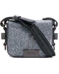 Off-White c/o Virgil Abloh Binder Clip Belt Bag - Metallic