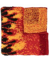 Palm Angels Flames スカーフ - ブラック