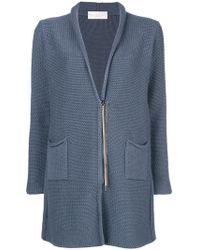 Fabiana Filippi - Fitted Zipped Cardi-coat - Lyst