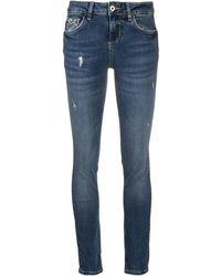 Liu Jo Mid Rise Skinny Jeans - Blue