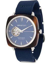 Briston Clubmaster Iconic Watch - Blue
