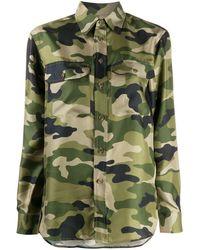 Polo Ralph Lauren Camouflage-print Shirt - Green