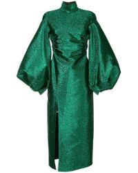Camilla & Marc - Metallic Lurex Dress - Lyst
