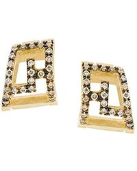 Polina Sapouna Ellis - Meander Earrings - Lyst