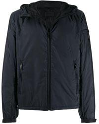 Prada - Logo Hooded Jacket - Lyst