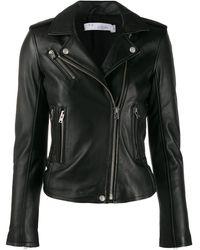 IRO ライダースジャケット - ブラック
