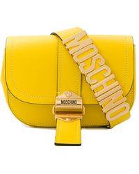 Moschino Gürteltasche mit Logo - Gelb