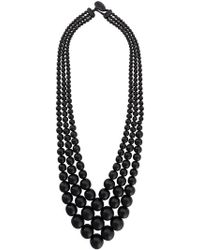 Monies - Beads Necklace - Lyst