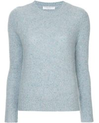 Majestic Filatures Cashmere Straight Jumper - ブルー