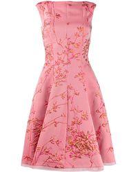 Talbot Runhof Платье Korbut - Розовый