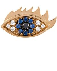 Delfina Delettrez - 'eyes On Me' Diamond And Sapphire Earring - Lyst