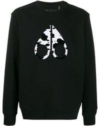 Moose Knuckles ロゴ スウェットシャツ - ブラック