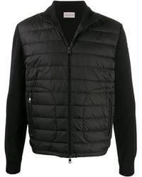 Moncler Куртка С Дутыми Вставками - Черный